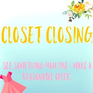 LAST DAY FOR MY CLOSET. MOVING TO EUROPE!